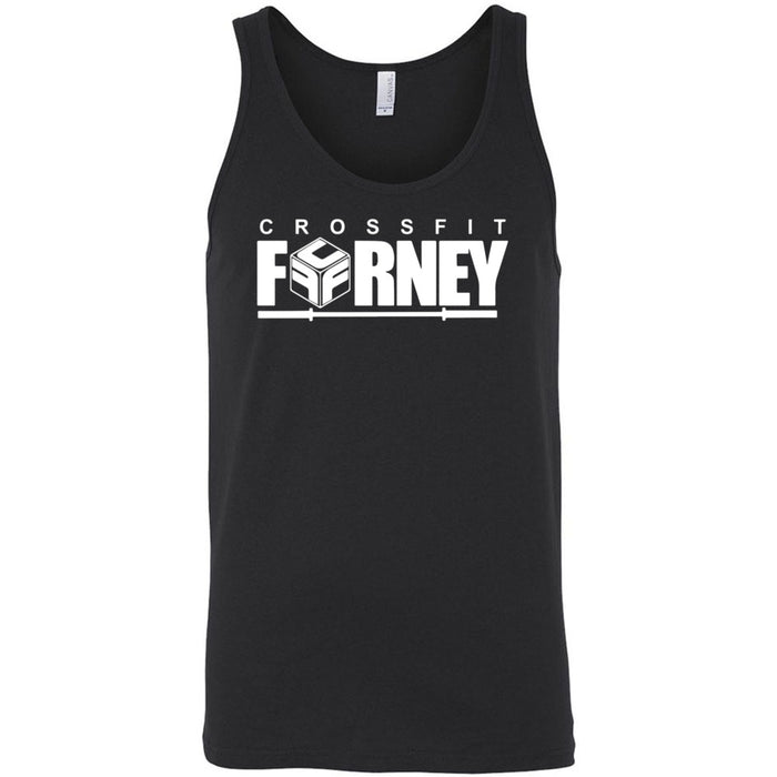 CrossFit Forney - Stacked - Bella + Canvas - Men's Jersey Tank