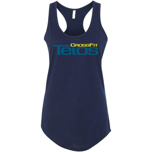 CrossFit Telos - 100 - Stacked - Next Level - Women's Ideal Racerback Tank