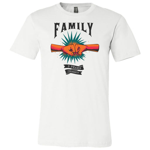 3 Peaks CrossFit - 100 - Family - Bella + Canvas - Men's Short Sleeve Jersey Tee