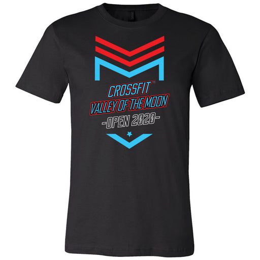 CrossFit Valley of the Moon - 100 - 2020 Open 20.2 - Bella + Canvas - Men's Short Sleeve Jersey Tee