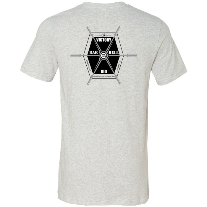 Friction CrossFit - 200 - Barbell Club - Bella + Canvas - Men's Short Sleeve Jersey Tee