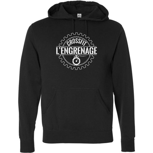CrossFit L'Engrenage - 100 - Standard - Independent - Hooded Pullover Sweatshirt