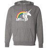 CrossFit Loft - 201 - Unicorn - Independent - Hooded Pullover Sweatshirt