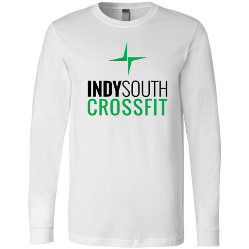 Indy South CrossFit - 100 - Standard - Bella + Canvas 3501 - Men's Long Sleeve Jersey Tee