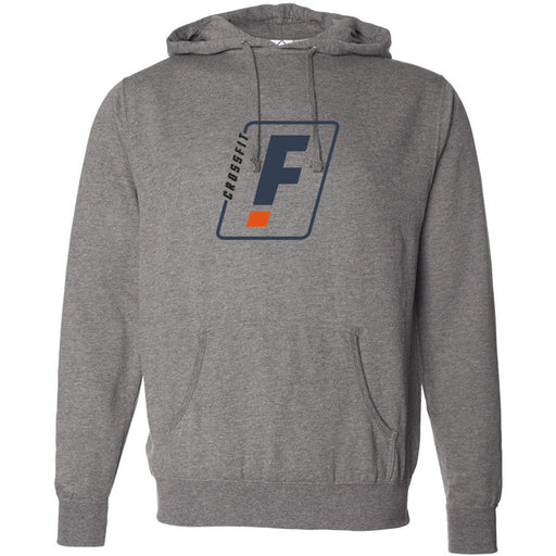 CrossFit Factorial - 100 - F Colored - Independent - Hooded Pullover Sweatshirt