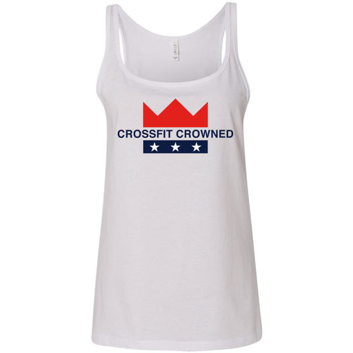 CrossFit Crowned - 100 - Standard - Bella + Canvas - Women's Relaxed Jersey Tank