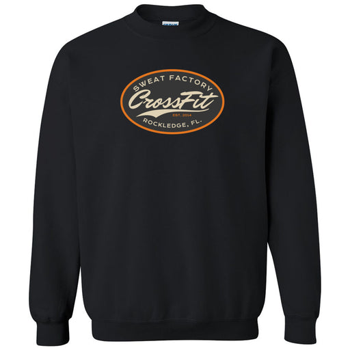 Sweat Factory CrossFit - Rockledge - 100 - DD3 - Gildan - Heavy Blend Crewneck Sweatshirt