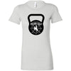 CrossFit BrownNGold - 100 - Kettlebell - Bella + Canvas - Women's The Favorite Tee