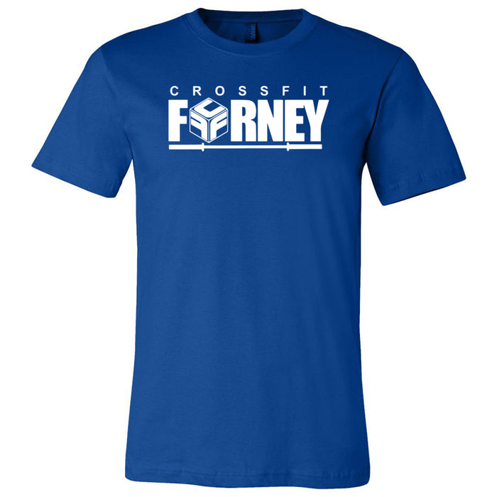 CrossFit Forney - Stacked - Bella + Canvas - Men's Short Sleeve Jersey Tee