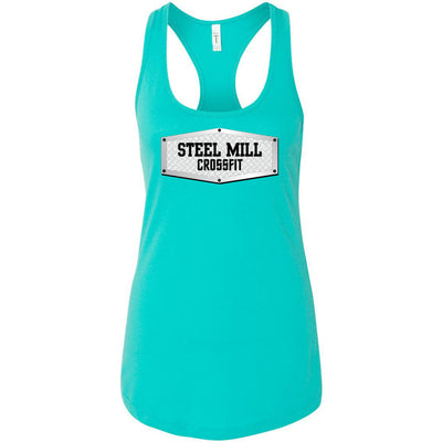 Steel Mill CrossFit Fleming Island - 100 - Steel - Next Level - Women's Ideal Racerback Tank