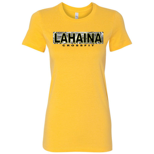 Lahaina CrossFit - 100 - Hawaii Yellow - Bella + Canvas - Women's The Favorite Tee