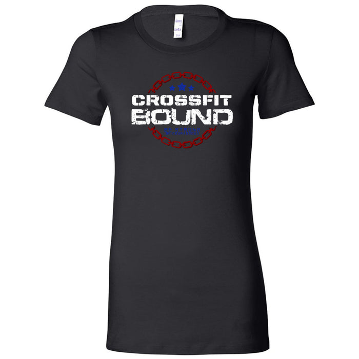 CrossFit Bound - 100 - CFB - Bella + Canvas - Women's The Favorite Tee