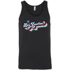 CrossFit I35 - 100 - Let's Exercise - Bella + Canvas - Men's Jersey Tank