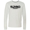 5280 CrossFit - 100 - 5280 - Bella + Canvas 3501 - Men's Long Sleeve Jersey Tee