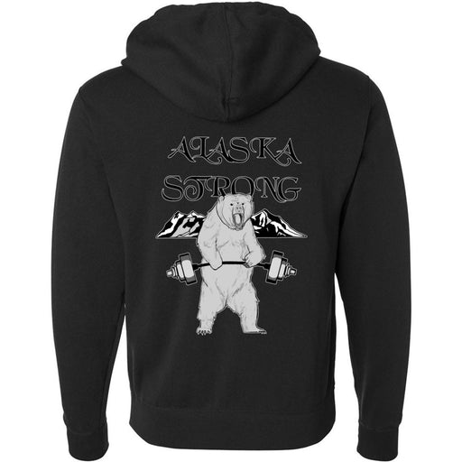 CrossFit North Pole - 201 - Strong Alaska - Independent - Hooded Pullover Sweatshirt