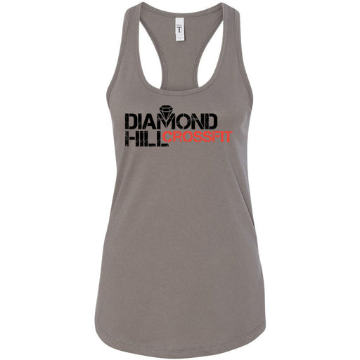 Diamond Hill CrossFit - 100 - Standard - Next Level - Women's Ideal Racerback Tank