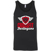 CrossFit Burlingame - 100 - Script - Bella + Canvas - Men's Jersey Tank