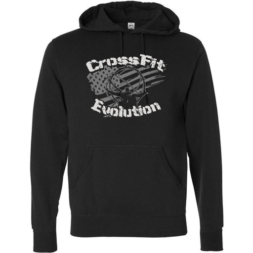 CrossFit Evolution - 201 - Atlas - Independent - Hooded Pullover Sweatshirt