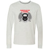 CrossFit Cadre - 100 - Standard - Bella + Canvas 3501 - Men's Long Sleeve Jersey Tee