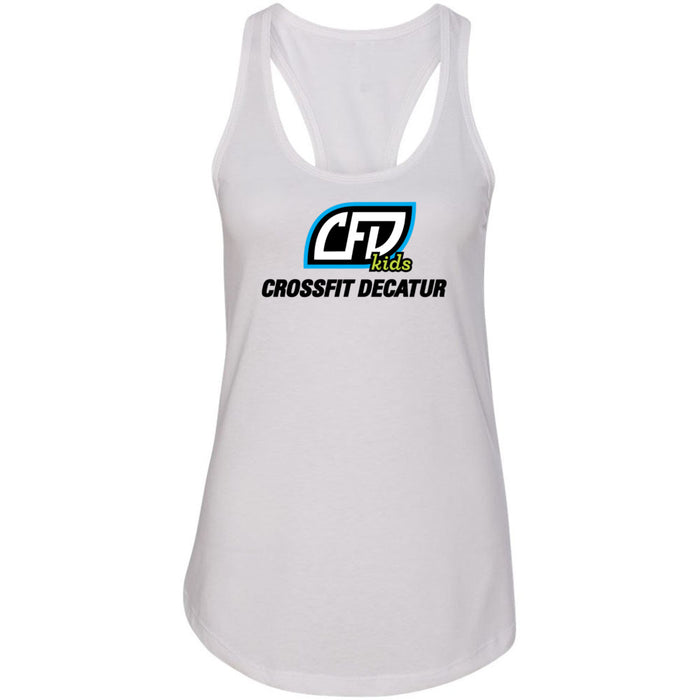 CrossFit Decatur - 100 - Kids - Next Level - Women's Ideal Racerback Tank
