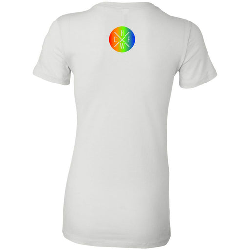 CrossFit Hollywood - 200 - Rainbow - Bella + Canvas - Women's The Favorite Tee