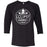 CrossFit Eclipse - 100 - BBC - Bella + Canvas - Men's Three-Quarter Sleeve Baseball T-Shirt