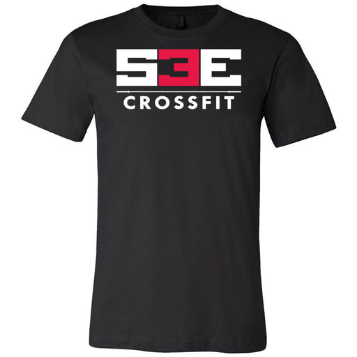 S3E CrossFit - 100 - Standard - Bella + Canvas - Men's Short Sleeve Jersey Tee
