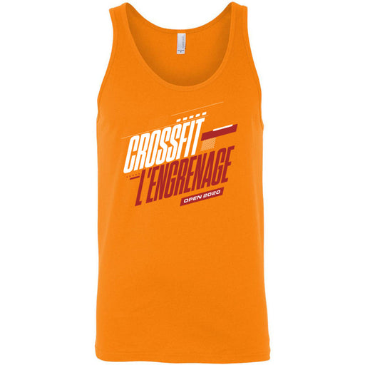 CrossFit L'Engrenage - 100 - 2020 Open - Bella + Canvas - Men's Jersey Tank
