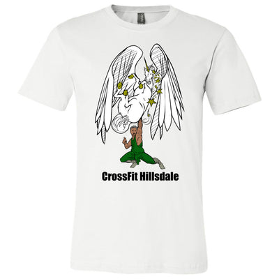 CrossFit Hillsdale - 100 - Pegicorn - Bella + Canvas - Men's Short Sleeve Jersey Tee