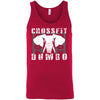 CrossFit Dumbo - 100 - Standard - Bella + Canvas - Men's Jersey Tank