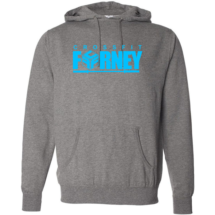 CrossFit Forney - Blue - Independent - Hooded Pullover Sweatshirt
