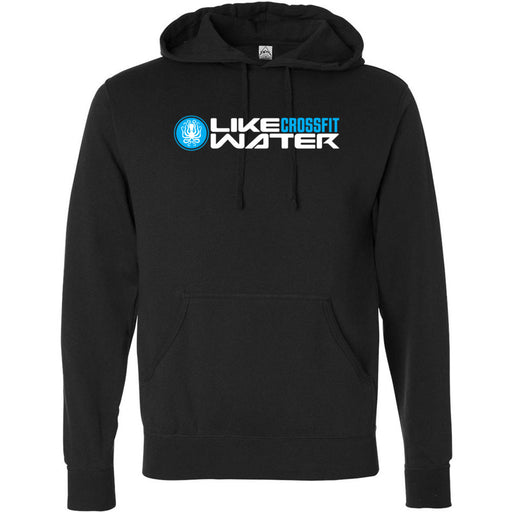 Like Water CrossFit - 100 - Standard - Independent - Hooded Pullover Sweatshirt