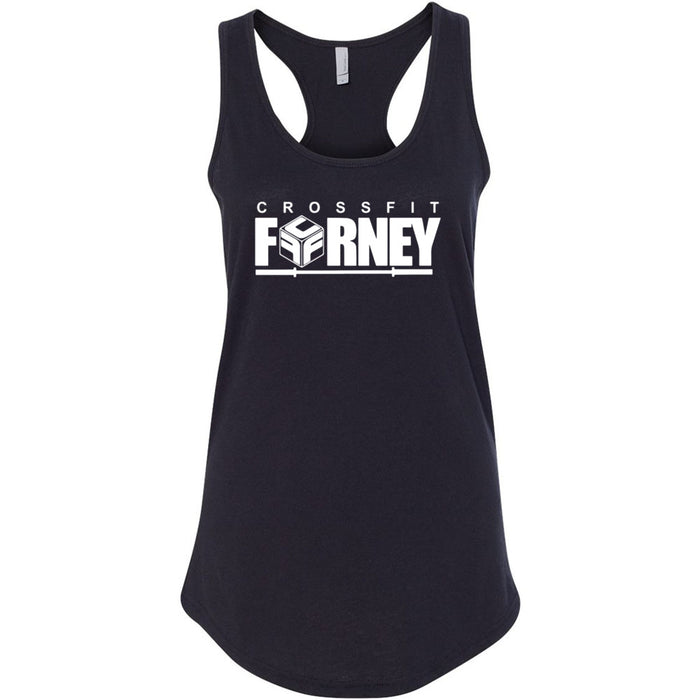 CrossFit Forney - Stacked - Next Level - Women's Ideal Racerback Tank