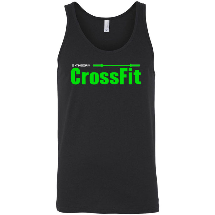 G-Theory CrossFit - 100 - Stacked - Bella + Canvas - Men's Jersey Tank