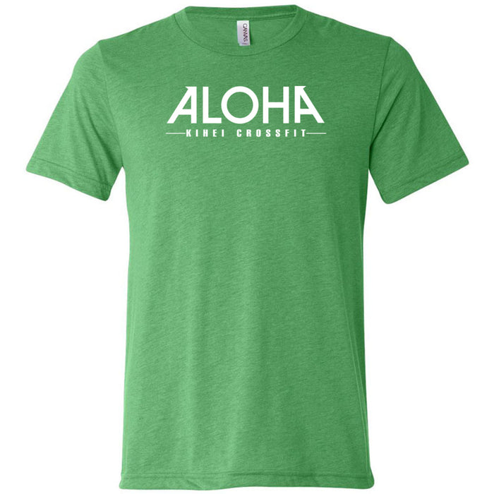 Aloha Kihei CrossFit - 200 - Stacked - Bella + Canvas - Men's Triblend Short Sleeve Tee