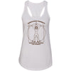 Ahwatukee CrossFit - 100 - Female CrossFitter Brown - Next Level - Women's Ideal Racerback Tank