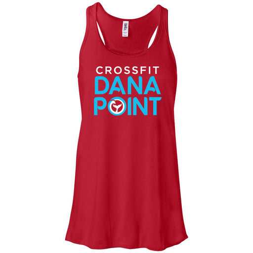 CrossFit Dana Point - 100 - Summer - Bella + Canvas - Women's Flowy Racerback Tank