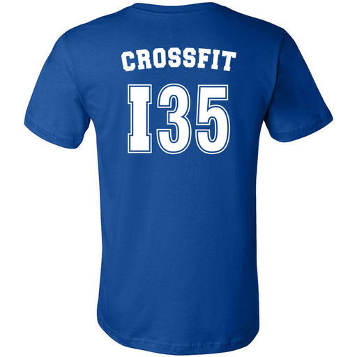 CrossFit I35 - 200 - Athletic - Bella + Canvas - Men's Short Sleeve Jersey Tee