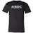 ASDC CrossFit - 200 - Stacked - Bella + Canvas - Men's Short Sleeve Jersey Tee