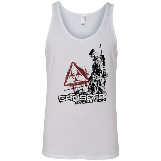 CrossFit Evolution - 100 - Biohazard - Bella + Canvas - Men's Jersey Tank