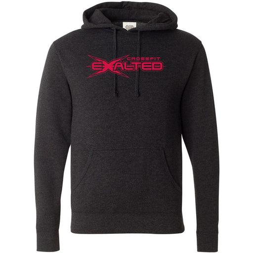 CrossFit Exalted - 100 - Red - Independent - Hooded Pullover Sweatshirt