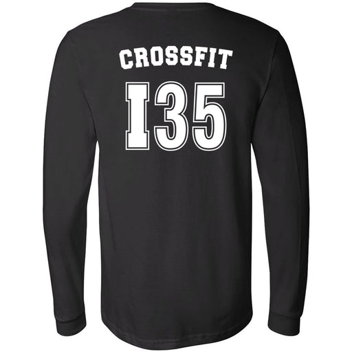 CrossFit I35 - 202 - Athletic - Bella + Canvas 3501 - Men's Long Sleeve Jersey Tee