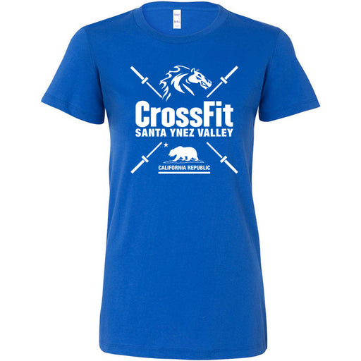 CrossFit Santa Ynez Valley - 100 - Barbell - Bella + Canvas - Women's The Favorite Tee