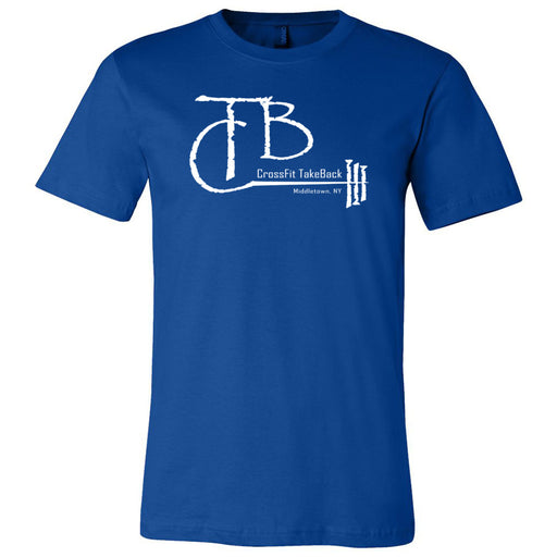 CrossFit TakeBack - 100 - Barbell - Bella + Canvas - Men's Short Sleeve Jersey Tee