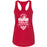 CrossFit Helix - 100 - Strong And Courageous - Next Level - Women's Ideal Racerback Tank