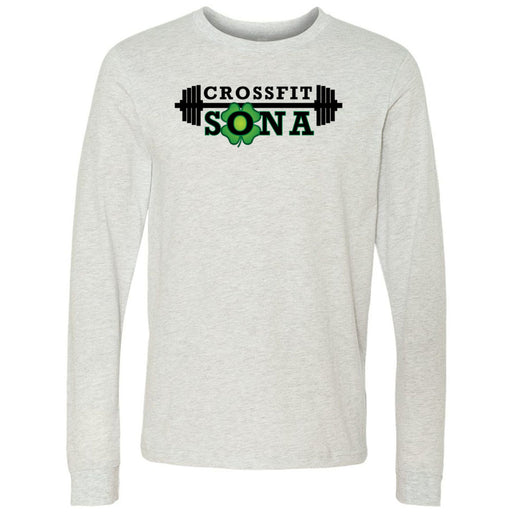 CrossFit Sona - 100 - Standard - Bella + Canvas 3501 - Men's Long Sleeve Jersey Tee