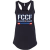 Flower City CrossFit - 100 - FCCF - Next Level - Women's Ideal Racerback Tank