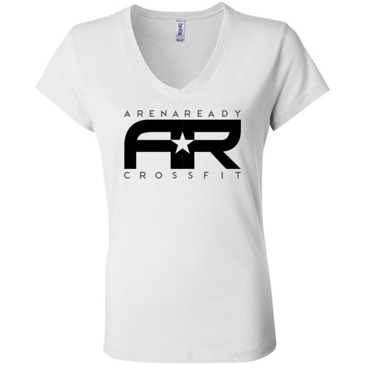 Arena Ready CrossFit - 200 - Definition - Bella + Canvas - Women's Short Sleeve Jersey V-Neck Tee