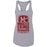 Muscles & Lungs CrossFit - 100 - Maroon - Next Level - Women's Ideal Racerback Tank