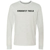 CrossFit Thelo - 100 - New Logo - Bella + Canvas 3501 - Men's Long Sleeve Jersey Tee